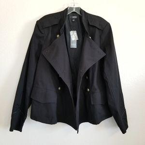 NWT a.n.a. Chic Black Denim Jacket 1X